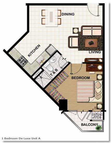BUILDING 1 UNIT FLOOR PLANS